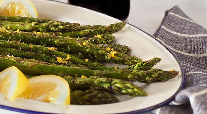 Grilled Asparagus with Lemon Butter recipe