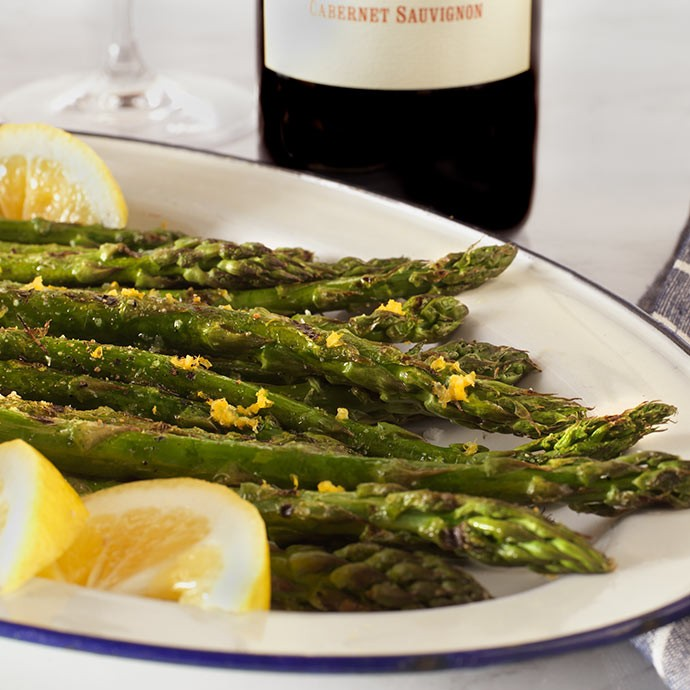 Recipe: Grilled Asparagus with Lemon Butter
