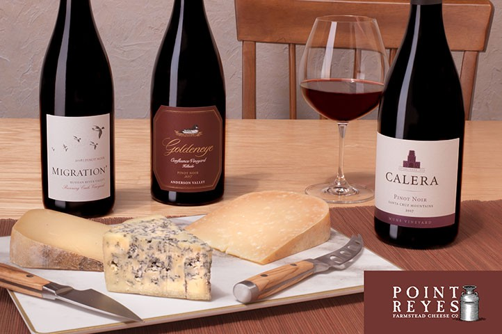 A Perfect Pairing: Pinot and Point Reyes Farmstead Cheese Co.